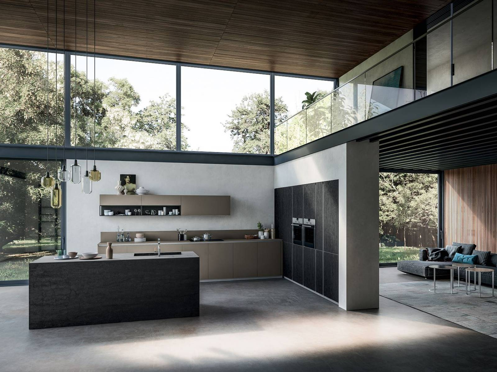 Cuisine italienne design cuisine allemande design for Cuisines italiennes modernes