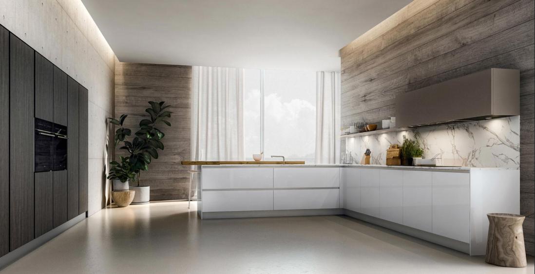 dekton plan de travail latest superbe cuisine en bois avec plan de travail et crdences en. Black Bedroom Furniture Sets. Home Design Ideas
