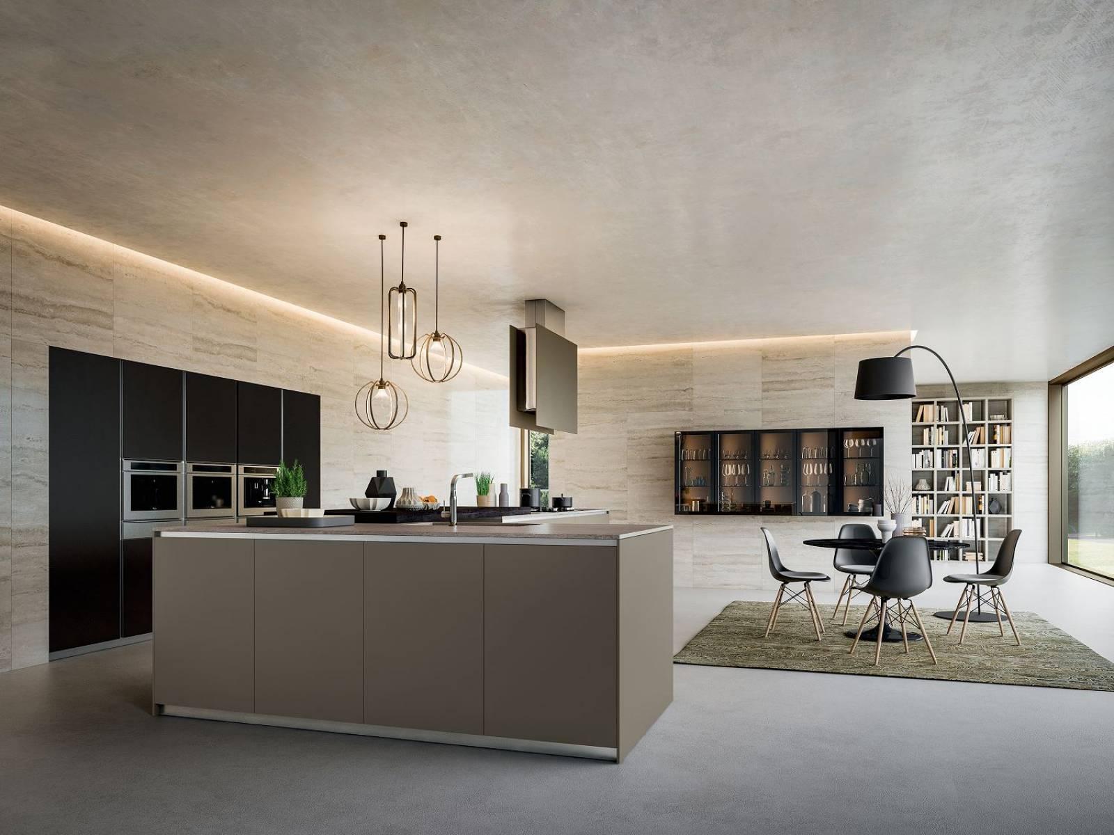 Cuisine moderne pur e laqu e blanc design cuisines for Cuisine epuree blanc